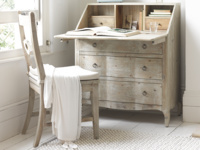 Stylish Quill vintage writing desk and reclaimed bureau
