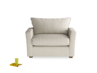 Gorgeous Pavilion stylish contemporary love seat and snuggler
