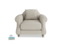 British made deep and extra comfy Sloucher armchair
