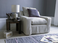 Gorgeous British made comfy Cloud luxury deep armchair