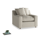 Handmade comfy extra deep Cloud luxury British made armchair