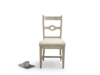 Beautiful very comfy wooden Chinwag Beached kitchen chair
