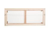 Picnic framed art canvas print by Ben Lowe on white wooden frame