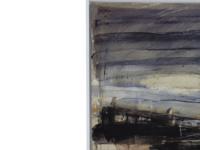Ben Lowe's Mending Nets art framed print canvas