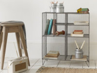 British made Low Wire practical industrial style wire shelving