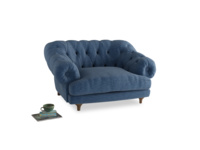 Bagsie Love Seat in Hague Blue cotton mix