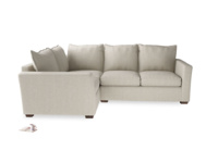 Modern and luxury Pavilion corner sofa, extra deep and comfy L shaped sofa handmade in Britain