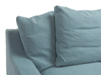 British made luxury Cloud Chaise L shaped extra comfy sofa