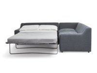 Luxury and extra comfy Cloud L shaped sofa bed handmade in Britain