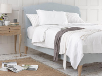 Luxury Frenchie upholstered French bed