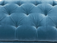 Stasher chesterfield buttoned upholstered storage footstool