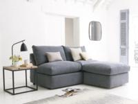 Upholstered Chatnap sofa storage footstool