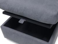 Space saving armless Chatnap modular storage sofa