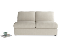 Sectional space saving Chatnap armless double sofa bed
