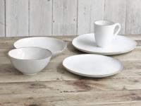 Beautiful handmade set of dinner Wobbler ceramics