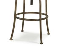 Upholstered swivel counter Milk kitchen and breakfast bar stool