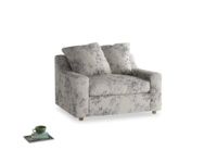 Love Seat Sofa Bed Cloud love seat sofa bed in Dusty Blue vintage rose