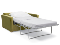 Pavilion single modern contemporary armchair sofa bed