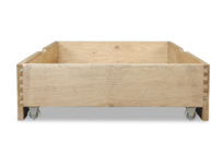 Solid Oak Dinkum wooden under bed storage drawer