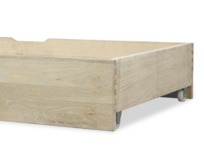 Wooden Dinkum under bed storage drawer in solid oak