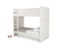 Clever Clogs white children's detachable bunk bed