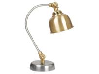 Mini Gaston kids' bedside lamp in brass