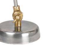 Mini Gaston children's brass bedside lamp