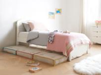 Kids' Sleepover folding floor cushion bed