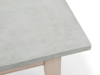 Beautiful Conker easy to clean concrete kitchen table