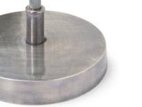 Adjustable British made brass vintage Loco floor lamp