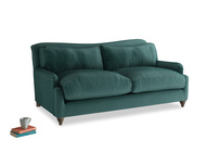 Medium Pavlova Sofa in Timeless teal vintage velvet