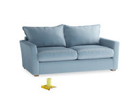 Medium Pavilion Sofa in Chalky Blue Vintage Velvet
