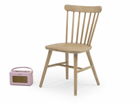 Wooden Natterbox dining chairs