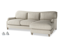 Large Pavlova chaise sofa