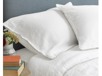 Beautiful Belgian Lordy bed linen with pretty border detail