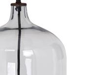 Flagon table lamp - glass detail