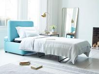 Bed in a bun with hidden mattress