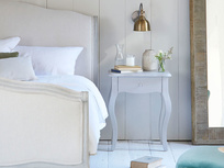 Mimi bedside table in Scuffed Grey