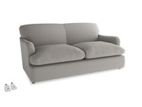 Medium Pudding Sofa Bed in Wolf brushed cotton