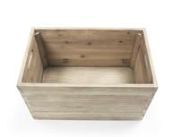 Lugger wooden storage stool
