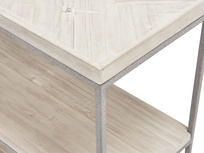 Nosy Parker parquet wood console table