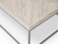 Parker coffee table parquet wood