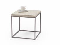 Little Parker side table in parquet wood