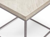 Little Parker parquet style side table