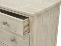Driftwood chest of drawers in reclaimed fir