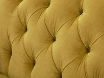 Truffle love seat button back detail
