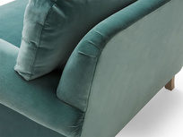 Slowcoach love seat comfy sofa