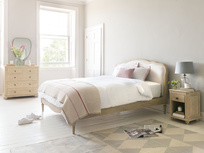 Mirabelle french style wooden bed