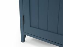 Cidre wooden sideboard in Inky Blue reclaimed fir