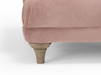 Fats button back chaise longue